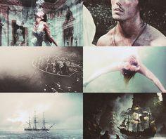 asheathes:  Mythology: Sirens  Voices sad, from far and nearEver...