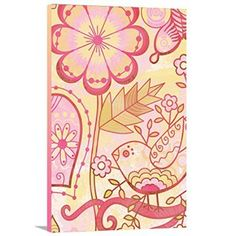 Bohemian wall decor like this is so pretty.  I love how abstract, funky and trendy it looks in living rooms, bedrooms and offices.  Especially Bohemian wall hangings and Bohemian wall tapestries.  Combining pretty unique home decor like this creates an unforgettable Boho chic home decor theme. #Boho #Bohemian #wallart #homedecor  Artzee Designs Home Decor Ready to Hang Great Gift Idea Modern Bohemian Free Spirit 2 Abstract Wall Art, 36