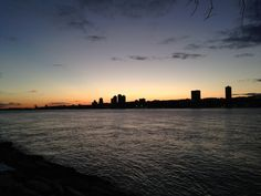 Placid Hudson and Fiery Sky—Pictures of Recent Days