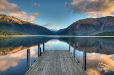 Lake Rotoiti in the Nelson region of #NewZealand thanks to Images Abound.
