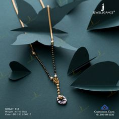 Plain Gold Mangalsutra gms) - Fancy Jewellery for Women by Jewelegance Fancy Jewellery, Buy Jewellery Online, Gold Jhumka Earrings, Mangalsutra Bracelet, Womens Jewelry Rings, Women Jewelry, Indian Bridal Jewelry Sets, Gold Mangalsutra Designs, Lotus Necklace