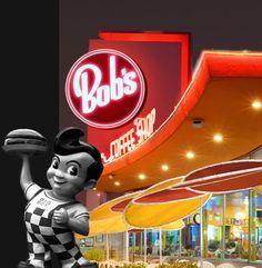 First date night with my hubby-- in Granada Hills, 1975 Bob's Big Boy - A California Historical Landmark