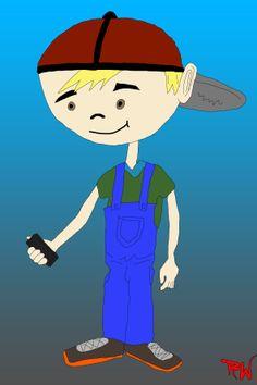 Desenho e Ilustração  Personagem: Bob