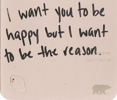 I hate when I feel this way . . . mostly because I can't remember the last time I as the reason.