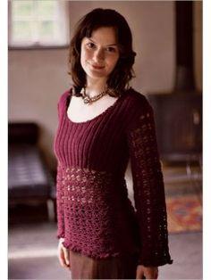 josephine pullover from Interweave