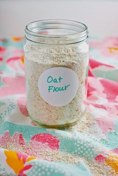 How to: Make Your Own Oat Flour   A Clean Bake
