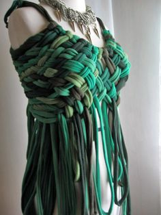 Made of old t-shirt :D