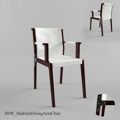 baker atelier dining arm chair 3d model 3d model 3dmodeling pinterest dining arm chair arm chairs and atelier
