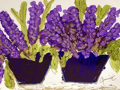 """Purple Passion"" Lovitude Soul Painting by Annie Pryor"
