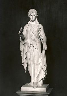 Bertel Thorvaldsen. Goddess of Hope, 1859