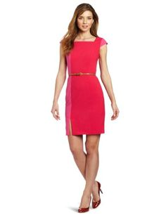 Amazon.com: Calvin Klein Women's Sheath Dress: Clothing