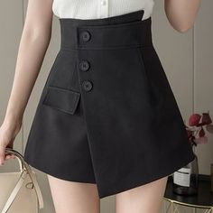 Nautical Hats, Long Pants, Skort, Personal Style, Color Black, Mini Skirts, Girly, Rompers, Sweatpants
