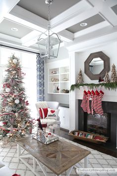 Christmas Home Tour: Master Bedroom and Craft Room - Life On Virginia Street