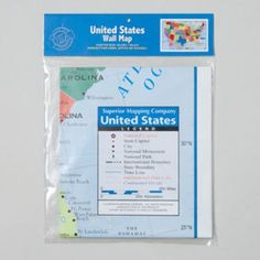 USA Wall Map Case Pack 24