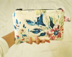 Japanese Floral iPad Mini Case, iPad covers, Kindle case handsewn, handmade project :)