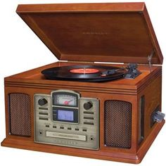 """Crosley Radio Director Cd Recorder. Use discount code """"holidays"""" to enjoy 20% discount and free shipping storewide."""