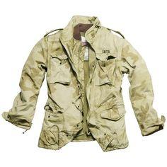 Veste m65 regiment camo noir