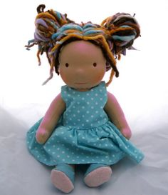 doll with dreads. seriously awesome.