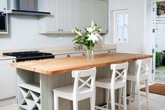 Smaller kitchen island