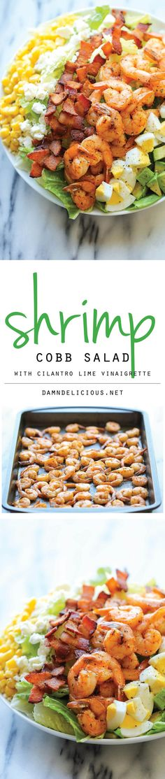 Shrimp Cobb Salad -