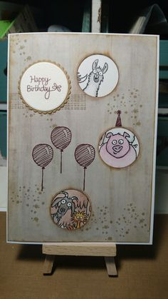 From the Herd Stampin Up birthday card.