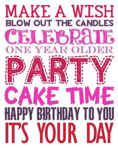girls birthday wish
