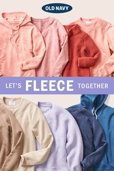 We're ALL about that fleece. Ultra cozy with a pop of mood-boosting color. 🌈 Looks amazing, feels amazing, on everyone. Kids Winter Fashion, Kids Fashion Boy, Teen Fashion, Fashion Trends, Kids Outfits Girls, Teenager Outfits, Cute Comfy Outfits, Cool Outfits, Trendy Hoodies