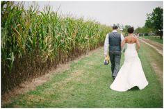Pat   Leigh Ann - Mulberry Lane Farm Wedding - Hilbert, Wisconsin | Photographs by Jenna Leigh