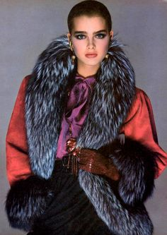Brooke Shields for VOGUE, 1980.