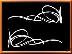 Corner Pinstripe Pattern
