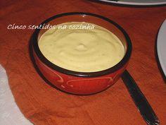 Cinco sentidos na cozinha: Molho de mostarda para carnes