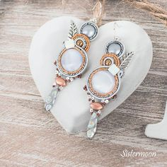 Hermes, Drop Earrings, Boho, Etsy, Beautiful, Jewelry, Fashion, Simple Lines, Moda