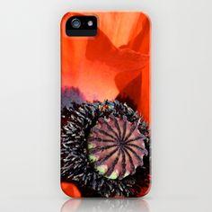 Poppy iPhone & iPod Case by Jody Edwards Art - $35.00