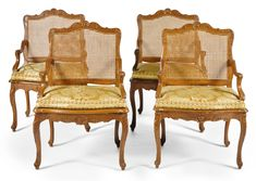 date unspecified A set of four Régence beechwood fauteuils à la Reine, early 18th century Estimate     6,000 — 9,000  GBP  LOT SOLD. 6,875 GBP (Hammer Price with Buyer's Premium)
