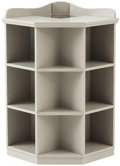 White Corner Bookshelves Cameron Bookcase Simply Shelves Pinterest