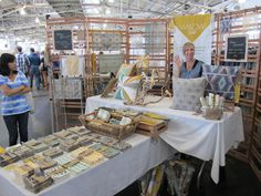 unique backdrop for a craft booth, IMG_4765 by renegadecraftfair, via Flickr