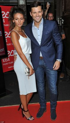 Wedding ready: The former TOWIE hunk is stepping up the work outs in the lead up to his wedding