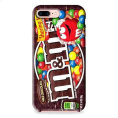 Chocloate Mm iPhone 7 3D Case Dewantary