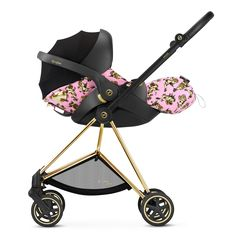 NEW CHERUBS collection! CYBEX by Jeremy Scott Cloud Q on MIOS travel system.
