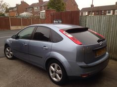 2005 Ford Focus in this afternoon for 18% Carbon (factory) tints for added style.