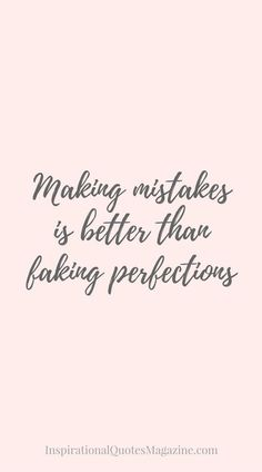 Keep it real.❤️ Inspirational Quote about Life and Making Mistakes - Visit us at InspirationalQuot. for the best inspirational quotes! Motivacional Quotes, Quotable Quotes, Life Quotes, Wisdom Quotes, Best Inspirational Quotes, Inspiring Quotes About Life, Great Quotes, The Words, Think