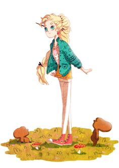 This is some awesome fan art of Luna Lovegood I found on tumblr. If you would like to find out who drew it go on my tumblr narglesandco!