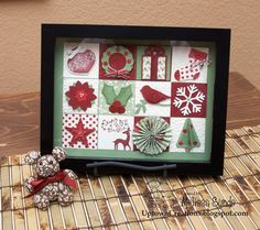 looky @Tina Bell-Dowty, more ideas for Christmas frame fillers.