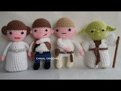 star war amigurumis 2 tutorial - YouTube