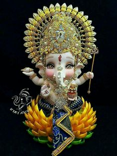 Ganesh so sweet Jai Ganesh, Ganesh Idol, Shree Ganesh, Shri Ganesh Images, Ganesha Pictures, Krishna Images, Ganpati Bappa Wallpapers, Baby Ganesha, Lord Ganesha Paintings