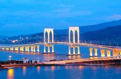 Sai Van Bridge, Macau