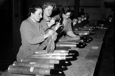 'The chemicals turned skin yellow': Women heroes of perilous WWII munitions factories finally honoured, UK ~