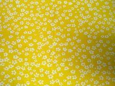 NB 5573-035 Katoen kleine bloemetjes geel