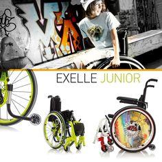Exelle Junior της Progeo. Ένα πολύ ελαφρύ πτυσσόμενο εξατομικευμένο αμαξίδιο, σχεδιασμένο για να δώσει στα παιδιά τη δυνατότητα να κινηθούν ελεύθερα και ανεξάρτητα!Αμαξίδια για δραστήρια παιδιά, ρυθμισμένα βάση των ανθρωπομετρικών στοιχείων του κάθε σώματος.   Το έμπειρο προσωπικό του τμήματος αποκατάστασης είναι στη διάθεσή σας, ώστε να σας βοηθήσει να επιλέξετε το κατάλληλο αναπηρικό αμαξίδιο, σύμφωνα με τις ανάγκες σας! ☎️+30 2310 818 963 🕋Βασ. Όλγας 120, Θεσσαλονίκη
