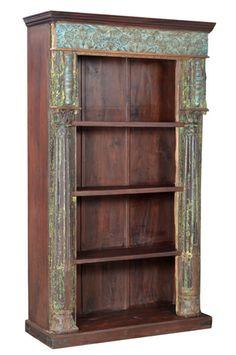 old doors bookshelf